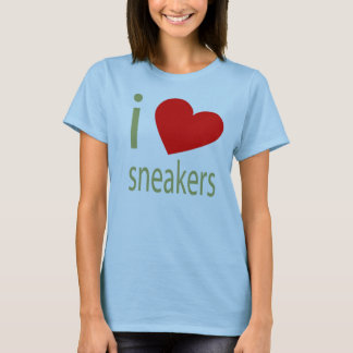 I LOVE SNEAKERS TSHIRT