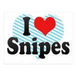 I Love Snipes Post Cards
