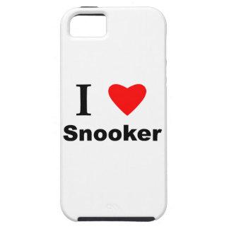 I Love Snooker iPhone SE/5/5s Case