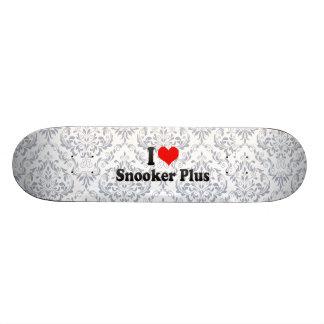I love Snooker Plus Skate Board Deck