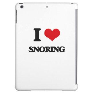 I love Snoring iPad Air Case