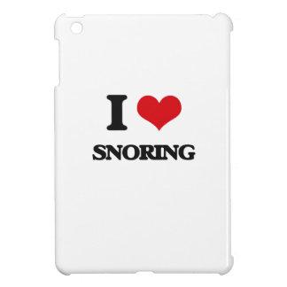 I love Snoring iPad Mini Cases