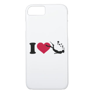 I love Snorkeling iPhone 8/7 Case