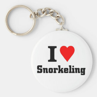I love Snorkeling Key Chains
