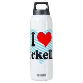 I love Snorkelling Thermos Bottle