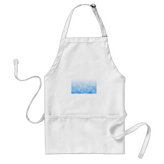 I Love Snow Adult Apron