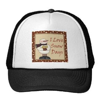 I Love Snow Days Trucker Hat