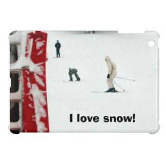 I love snow! iPad mini cases