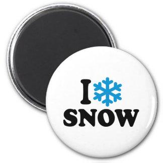 I love snow magnets