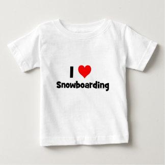 I Love Snowboarding Tee Shirts
