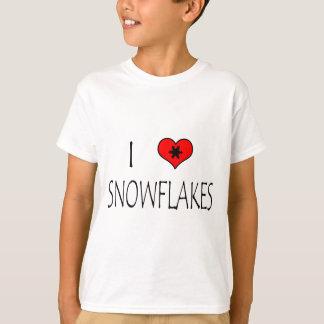 I Love Snowflakes T-Shirt