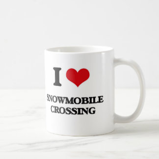 I love Snowmobile Crossing Coffee Mug