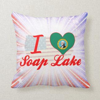 I Love Soap Lake, Washington Pillows