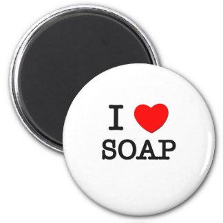 I Love Soap Magnet
