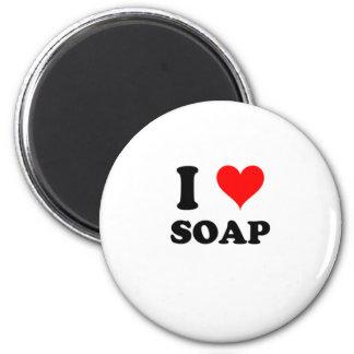 I Love Soap Fridge Magnets