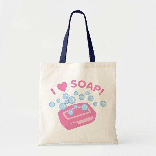 I Love Soap Tote Bag