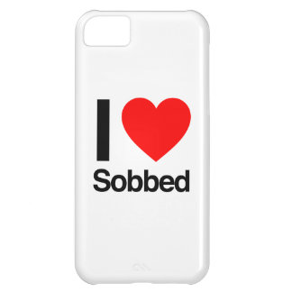 i love sobbed cover for iPhone 5C