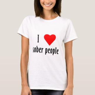 I Love Sober People T-Shirt
