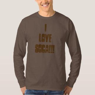 I Love Soca Mens Sweatshirt