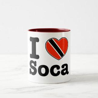 I love Soca Two-Tone Coffee Mug