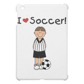I Love Soccer and Gifts iPad Mini Covers