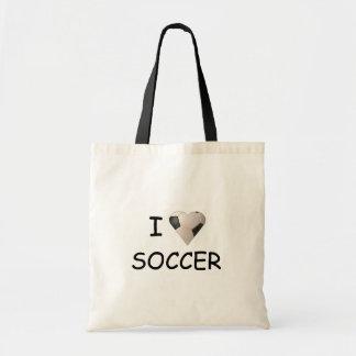 I LOVE SOCCER BAG