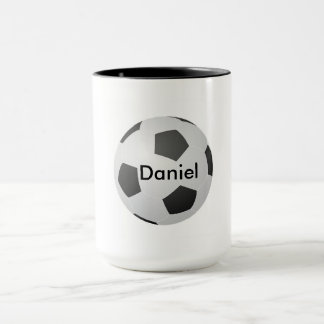 I Love Soccer Blank Customizable Mug