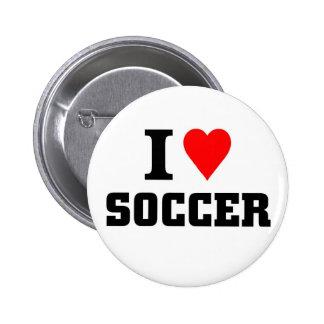 I love soccer button