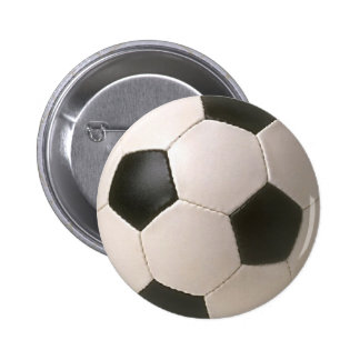 I Love Soccer Pinback Buttons