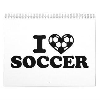 I love soccer calendar