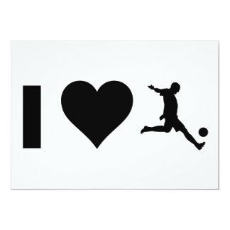 I Love Soccer Card