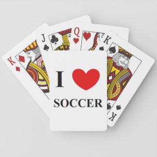 I love soccer card deck
