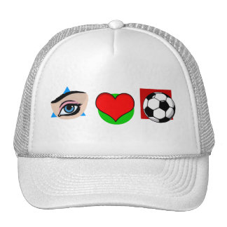 I love soccer hats