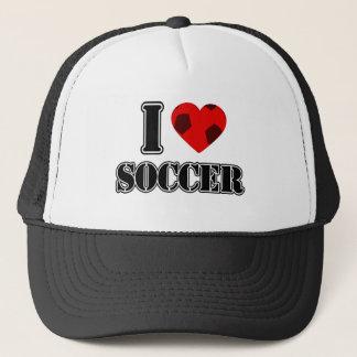 I Love Soccer - Hat