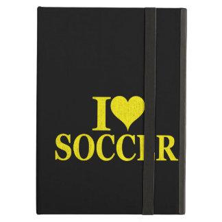 I Love Soccer! iPad Air Cases