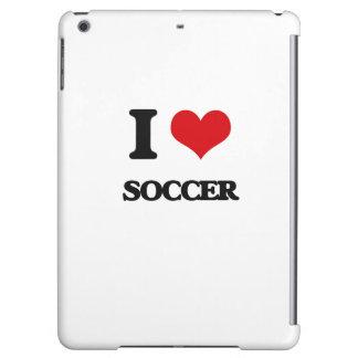 I Love Soccer iPad Air Case