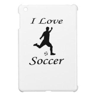 I Love Soccer Case For The iPad Mini