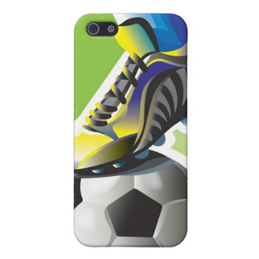 I Love Soccer iPhone 4 Speck Case Cover For iPhone 5