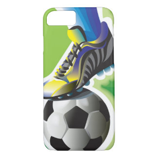 I Love Soccer iPhone 7 case