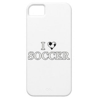 I Love Soccer iPhone SE/5/5s Case