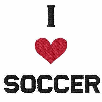 i love soccer jacket