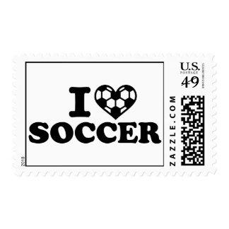 I love soccer stamps