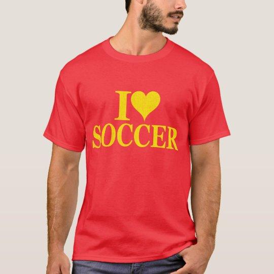 I love soccer shirt - I heart soccer