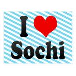 I Love Sochi, Russia. Ya Lyublyu Sochi, Russia Post Cards