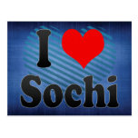 I Love Sochi, Russia. Ya Lyublyu Sochi, Russia Postcards