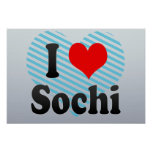I Love Sochi, Russia. Ya Lyublyu Sochi, Russia Poster