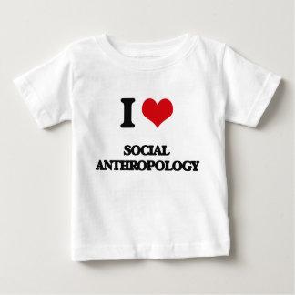 I Love Social Anthropology T-shirt