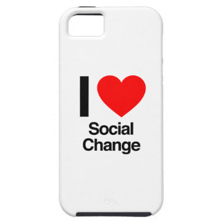 i love social change iPhone 5 cover