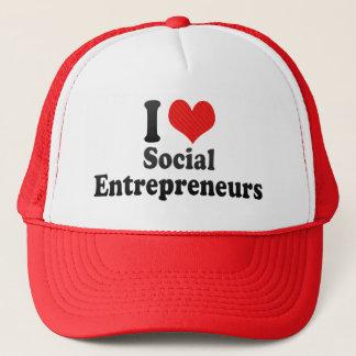 I Love Social Entrepreneurs Trucker Hat