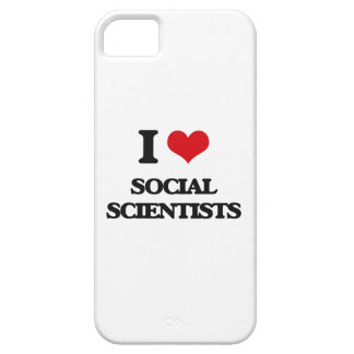 I love Social Scientists iPhone 5 Cover